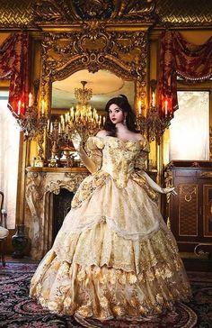 Over The Top, Beauty And The Beast Wedding Dresses, Belle Beauty And The Beast, Beauty Beast, Western Wedding Dresses, Wedding Gowns, Wedding Ceremony, Vestido Charro, Victorian Corset