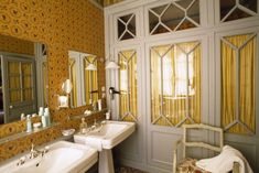 If there is any place that has made me say, I want to go to there, it's La Mirande in Avignon, France. Pierre Frey posted two images on Instagram since some of their Braquenié fabrics are used in the hotel and now I am dreaming of a trip. The five-star hotel and restaurant opened in […]