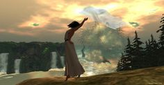 https://flic.kr/p/KQ2pgR | Pose: Let go and be free by LW | Photo taken at…