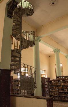 """Old #library"" Matanzas, #Cuba. Photography by: Jessica G. Covalles"