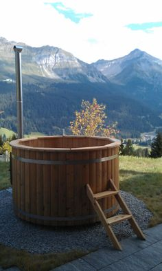 Introducing our latest addition - Percy and Jules lodges now feature private hot tubs just like this!