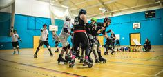 Bomb S'quad vs The Jammerwockies. The Bomb S'Quad's first ever bout !
