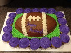 Birthday cake I made for my husband using the wilton guitar pan