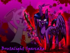 Brutalight Sparcake by mysteryponyfan.deviantart.com on @DeviantArt