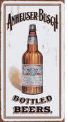 Anheuser Busch - Bottled Beers Metal Sign