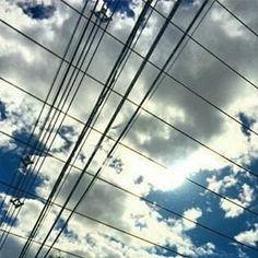 Sun Panels, Sun Power, Photography Sky, Sky And Clouds, Solar Energy, Utility Pole, Waves, Instagram Posts, Photos