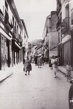 Spain. La Cava Alta, Madrid, 1930