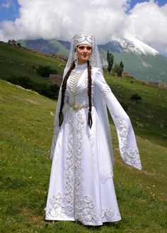 COSTUME PLANET: North Caucasus: Adyghe Bride