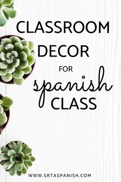 Must Have Posters for Spanish Class - SRTA Spanish