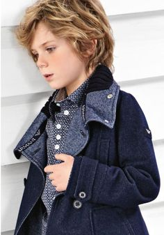 ALALOSHA: VOGUE ENFANTS: Armani Junior AW'13 boys collection