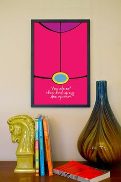 Prince Bubblegum // Adventure Time Minimalist Quote Poster by TheGeekerie, $18.00