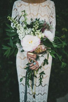 Bohemian Wedding Bouquets That Are Totally Chic ❤︎ Wedding planning ideas & inspiration. Wedding dresses, decor, and lots more. Mod Wedding, Floral Wedding, Wedding Flowers, Dream Wedding, Wedding Day, Chic Wedding, Wedding Things, Trendy Wedding, Wedding Blog