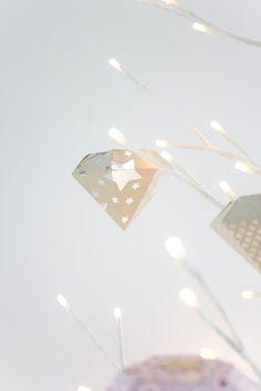 DIY Diamant - Deko aus Papier