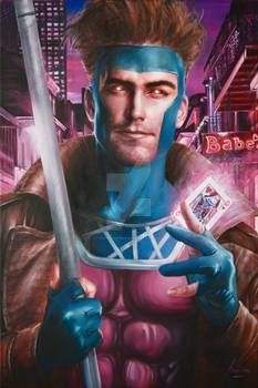 Gambit Art by Fred Ian Gambit X Men, Rogue Gambit, Marvel Comics, Marvel Art, Jack Of Hearts, Queen Of Hearts, The Little Match Girl, Remy Lebeau, Psylocke