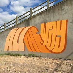 This Street Artist Uses Incredible Typography – Fubiz Media art art graffiti art graffiti definition art graffiti quotes art graffiti words art quotes wall art quotes 3d Street Art, Street Art Graffiti, Street Artists, New York Graffiti, Best Street Art, Banksy Graffiti, Graffiti Lettering, Graffiti Artists, Hand Lettering