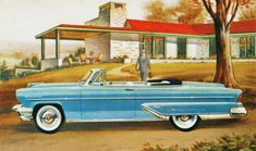 1955 Lincoln Capri Convertible