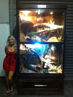 large reptile enclosure https://www.facebook.com/pages/HP-Customs-Custom-Reptile-Enclosures/572704122760765