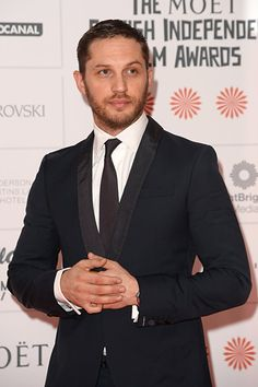 Tom Hardy at an event for Legend (2015)