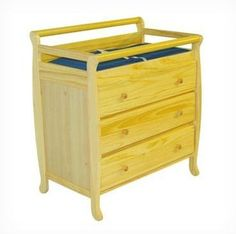 Dream On Me Liberty 3 Drawer Changing Table in Natural 272