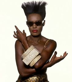 Before there was Madonna or Lady Gaga, there was Grace Jones. Jamaican singer, model, and actress secured a record deal with Island Records in which res Grace Jones, Ms Jones, Black Is Beautiful, Beautiful People, Beautiful Women, Amazing People, Afro, Kenzo, Nina Hagen