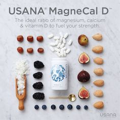 Your bones, muscles, and nerves work in tandem to keep your body aligned and moving. The calcium and magnesium in MagneCal D facilitate the electrical signals that tell your muscles to expand and contract, supporting these systems for smoother movement. Calcium Vitamins, Usana Vitamins, Bone Health, Eyes Health, Metabolic Disorders, Self Treatment, Skincare Logo, Nutritional Supplements, Health Tips