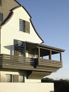 second floor corner porch by mcalpine tankersley