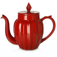 www.mariagefreres.com   UK Teapots and tea cups - selection « LUCKY STAR » Teapot red stoneware - 0,7 l A1841 - 180 €