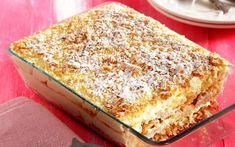 μιλφειγ Yummy Cakes, Vanilla Cake, Tiramisu, Banana Bread, Cheesecake, Cooking, Ethnic Recipes, Desserts, Food
