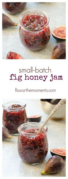 Small-Batch Fig Honey Jam | flavorthemoments.com