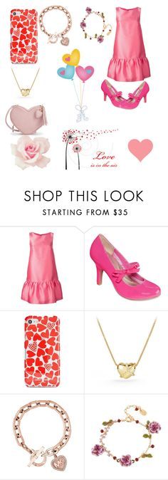 """Happy Valentines Day"" by marinarey11 ❤ liked on Polyvore featuring P.A.R.O.S.H., POP, Kate Spade, David Yurman and Les Néréides"