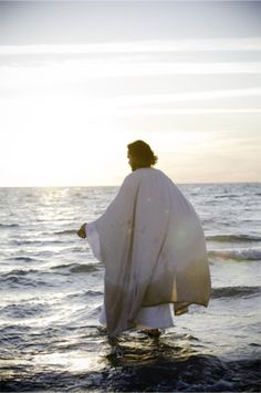 ReflectionsofChrist — Walking on Water (Canvas Print)
