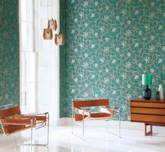 Identity Wallpaper (source Harlequin) Wallpaper Australia / The Ivory Tower Walnut Furniture, Deco Furniture, Funky Furniture, Harlequin Wallpaper, Cool Wallpaper, Colorful Wallpaper, Stunning Wallpapers, Blue Wallpapers, Turquoise Wallpaper