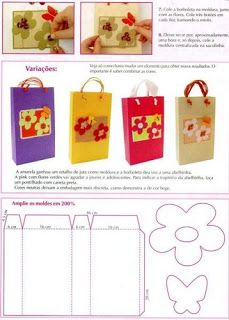 :¨* Bolsas de Papel *¨: Project 4, Brown Paper, Printable Paper, Gift Bags, Plastic Cutting Board, Projects To Try, Miniatures, Paper Crafts, Templates
