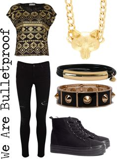 """Outfit inspired by: V in BTS """"We Are Bulletproof"""" MV."""