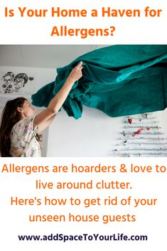 Is your home an allergy haven? According to a study in theJournal of Allergy and Clinical Immunology,at least six allergens are detectable in more than 50 percent of homes. These invaders live in the air, on furniture, and on the floor. Here are a few tips to declutter and clean out your environment.