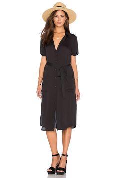 e74d9e57149 L Academie The Shirt Dress in Black
