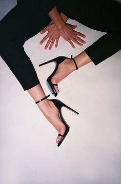 Simple black heel.