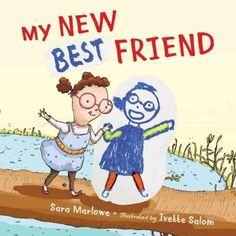 a young girl discovers a new best friend within herself and shares lessons of self