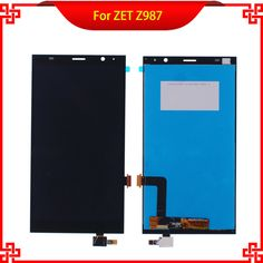 6'' LCD Display Touch Screen Digitizer Assembly Replacement For ZTE Grand X Max+ Plus Z987 987 High Quality Mobile Phone LCDs #Affiliate