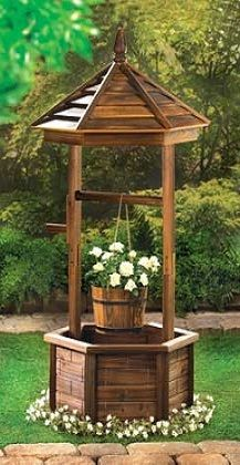 Wagon Wheel U0026 Water Pail Planter | Water Pail, Outdoor Plant Stands And  Wagon Wheels