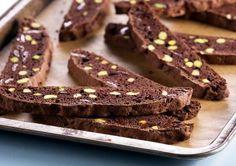 Recipe: Chocolate Pistachio Cantucci   Anna olson