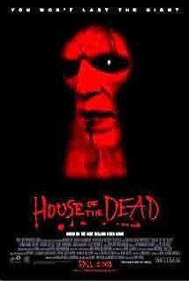 House of the Dead (2003), Mindfire Entertainment and Brightlight Pictures with Jonathan Cherry, Tyron Leitso, and Clint Howard. This was so bad it was good.