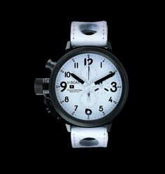 """U-Boat Watches - by Italo Fontana. This series of watches are based off of an uncompleted project from 1942 by his grandfather Ilvo Fontana to create an exclusive set of watches for the Italian governments most elite unit of the navy. These are """"handmade"""" in Italy and what they say handmade they mean every single piece. Watch a video of the process - www.uboatwatch.it/history.php"""