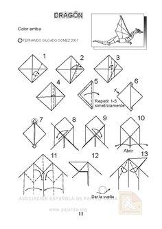 3d origami dragon diagram origami dragons on pinterest origami dragon