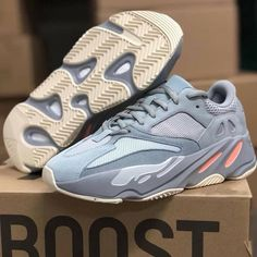 on sale 4d740 5ea2d Adidas Yeezy Boost 700 Inertia Mens Size 9 Confirmed Order Deadstock New In  Box ( 2 Bids )