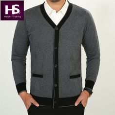 HS Winter Thick Warm V Neck Sweater Men Cashmere Cardigan Men Sweaters With Wool Liner Brand Cardigans Casual Sueter Male Pocket-in Sweaters from Men's Clothing & Accessories on Aliexpress.com | Alibaba Group