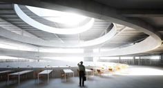 Ideenwettbewerb für die Zentral- und Landesbibliothek Berlin entschieden - http://www.exklusiv-immobilien-berlin.de/architektur-in-berlin/zentral-und-landesbibliothek-berlin/001662/