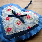 Gifts to Sew by Hand:  Lavender Heart site has how to's