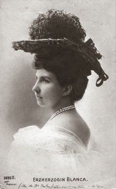 Archduchess Blanca of Tuscany  née Infanta of Spain
