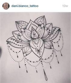 Resultado de imagem para lotus tattoo